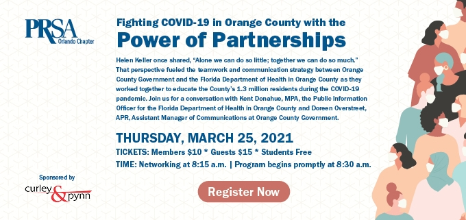 Fighting COVID-19 with the Power of Partnerships in Orange County
